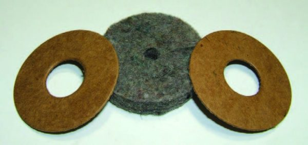 1949-1954 Accelerator Shaft Floor Seal Set