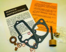 Carter W-1 Rebuild Kit Manual Choke