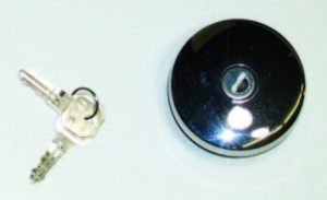 Locking Gas Cap for 1953-1954 Wagon/Sedan Delivery and All 1949-1952 Models