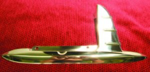 1953-1954 Stainless Gas Door Guard