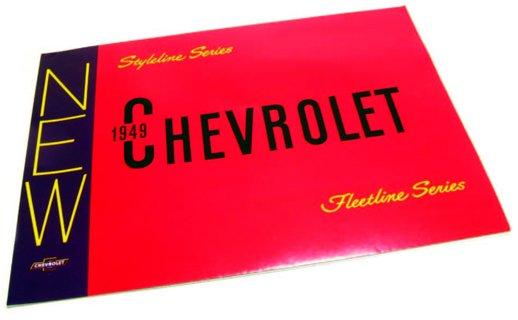 1949 Chevy Sales Brochure