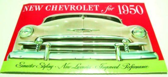 1950 Chevy Sales Brochure