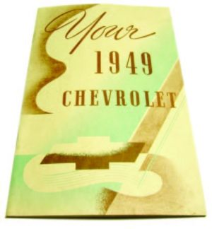 1949 Owners Manual