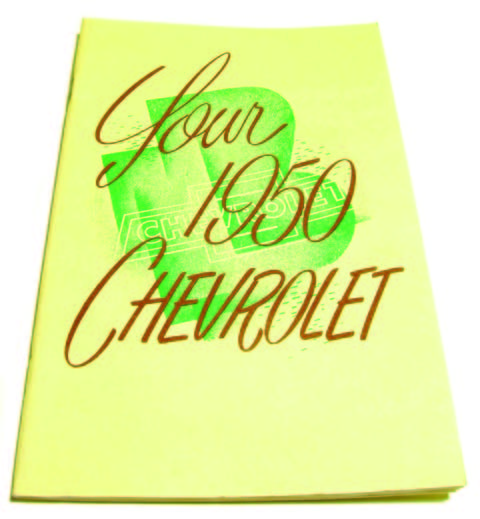 1950 Chevy Owners Manual